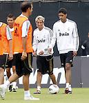 Real Madrid pre seasen training in Los ANgeles California on July 14th 2011. Fabio Coentrao, Cristiano Ronaldo, Ricardo Carvalho, Raphael Varane..Photo: Tresmu / ALFAQUI