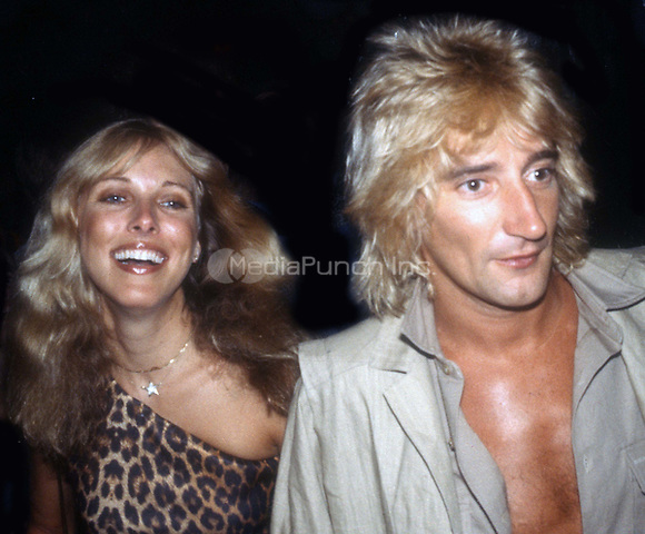 Rod Stewart and Alana Stewart 1978 at Studio 54<br /> Photo By Adam Scull/PHOTOlink.net /MediaPunch