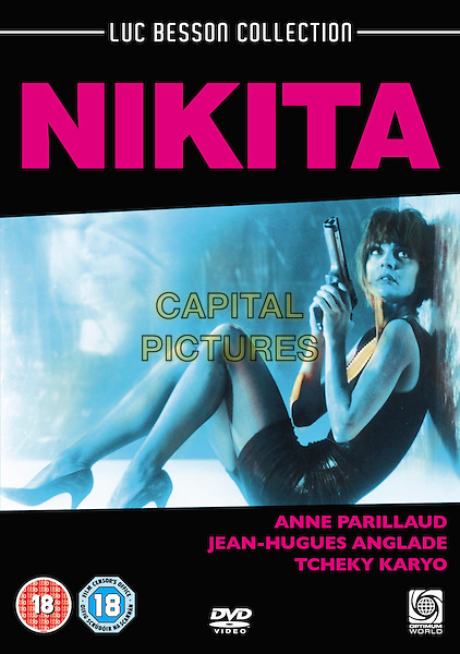 La Femme Nikita (1990) <br /> (Nikita)<br /> DVD COVER ART<br /> *Filmstill - Editorial Use Only*<br /> CAP/KFS<br /> Image supplied by Capital Pictures