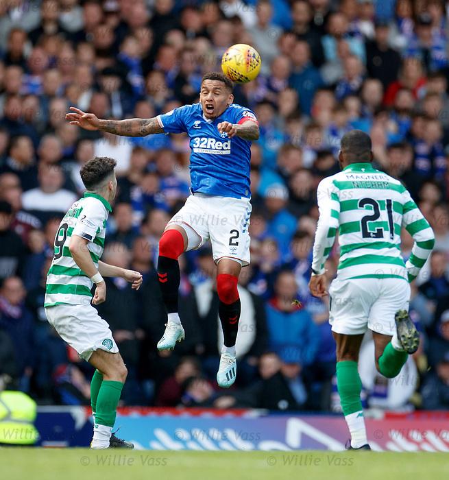 01.09.2019 Rangers v Celtic: James Tavernier