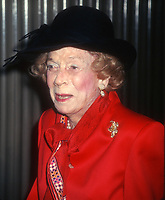 Brooke Astor, 1997, Photo By John Barrett/PHOTOlink