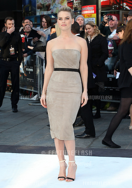 Alice Eve arriving for the UK premiere of 'Star Trek Into Darkness' at The Empire Cinema, London. 02/05/2013 Picture by: Alexandra Glen / Featureflash