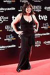 Actress Loles Leon attends Goya Cinema Awards 2014 red carpet at Centro de Congresos Principe Felipe on February 9, 2014 in Madrid, Spain. (ALTERPHOTOS/Victor Blanco)