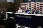 England's Joe Hart and Gareth Southgate during their press conference at Tottenham Hotspur training centre, London. Picture date November 14th, 2016 Pic David Klein/Sportimage