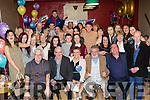 Heart of Gold<br /> ------------------<br /> Mag Mitchell, Castleisland, seated centre, had a wonderful night in the Fountain bar in her home town for her 60th birthday celebration surrounded by many friends and family.