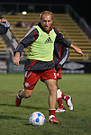 31 March 2007: New York's Clint Mathis. Major League Soccer's Houston Dynamo defeated the New York Red Bulls 2-1 in a preseason game at Blackbaud Stadium on Daniel Island in Charleston, SC, as part of the Carolina Challenge Cup.