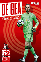Match of the Day Magazine 19-Jul-2017 - David De Gea of Manchester United - Photo by Rob Newell (Camerasport via Getty Images)