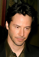 CelebrityArchaeology.com<br /> New York City<br /> 2003 FILE PHOTO<br /> KEANU REEVES<br /> Photo By John Barrett-PHOTOlink.net<br /> -----<br /> CelebrityArchaeology.com, a division of PHOTOlink,<br /> preserving the art and cultural heritage of celebrity<br /> photography from decades past for the historical<br /> benefit of future generations, for these images are<br /> significant, both historically and aesthetically.<br /> ——<br /> Follow us:<br /> www.linkedin.com/in/adamscull<br /> Instagram: CelebrityArchaeology<br /> Blog: CelebrityArchaeology.info<br /> Twitter: celebarcheology