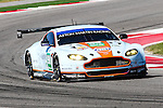 Paul Dalla Lana (98), Aston Martin Racing driver in action during the World Endurance Championship Race (FIA/WEC) at the Circuit of the Americas race track in Austin,Texas.