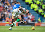 01.09.2019 Rangers v Celtic: Scott Arfield and Scott Brown