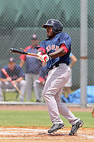 William Holmes (40) DH for the GCL Red Sox during a game against the GCL Rays on July 15th, 2010 at Charlotte Sports Park in Port Charlotte Florida. The GCL Rays are the the Gulf Coast Rookie League affiliate of the Boston Red Sox. Photo by: Mark LoMoglio/Four Seam Images