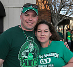 James Eastland and Dawn Wheeler on St. Patrick's Day in Reno on Friday, March 17, 2017.