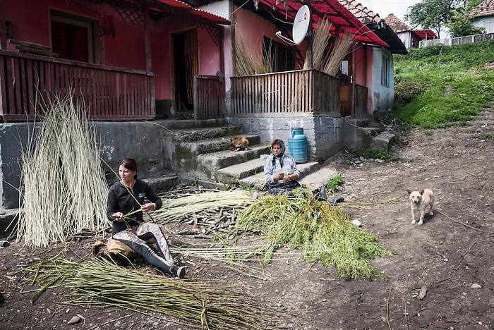 Glodeni, a gypsy community in Transylvania, Romania
