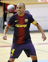 FC Barcelona Alusport's Ari Santos during Spanish National Futsal League match.November 24,2012. (ALTERPHOTOS/Acero) /NortePhoto