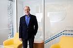 The new Diane Max Health Center of Planned Parenthood in Long Island City designed by architect Stephen Yablon. <br /> <br /> Portrait of Stephen Yablon in the main waiting room on the second floor. <br /> <br /> <br /> <br /> Danny Ghitis for The New York Times