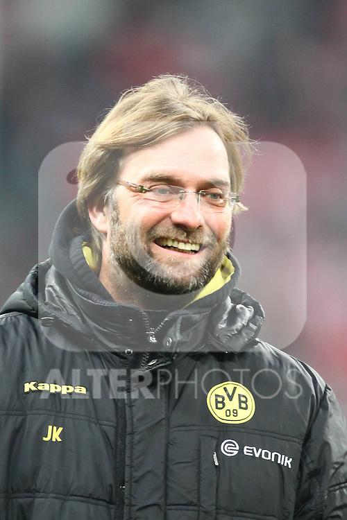 26.03.2011, Allianz Arena, Muenchen, GER, 1.FBL, FC Bayern Muenchen vs Borussia Dortmund, im Bild  Jürgen (Juergen) Klopp (Trainer BVB) , Foto © nph / Straubmeier