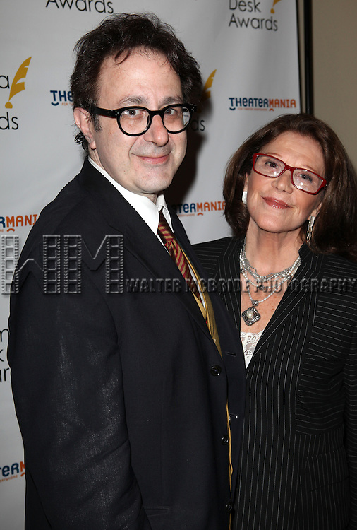 Nicky Silver & Linda Lavin.attending the 57th Annual Drama Desk Nominees Reception at Oceana Restaurant in New York City on 5/8/2012. © Walter McBride/WM Photography .
