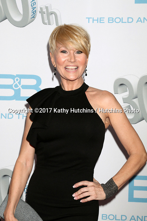 """LOS ANGELES - MAR 18:  Schae Harrison at the """"The Bold and The Beautiful"""" 30th Anniversary Party at Clifton's Downtown on March 18, 2017 in Los Angeles, CA"""