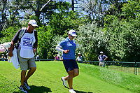 Amy Yang (KOR) departs the first tee during Sunday's final round of the 2017 KPMG Women's PGA Championship, at Olympia Fields Country Club, Olympia Fields, Illinois. 7/2/2017.<br /> Picture: Golffile   Ken Murray<br /> <br /> <br /> All photo usage must carry mandatory copyright credit (&copy; Golffile   Ken Murray)
