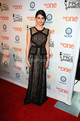 PASADENA, CA - FEBRUARY 5: Amber Montana at the 46th NAACP Image Awards Non-Televised Ceremony at the Pasadena Convention Center in Pasadena, California on February 5, 2015. Credit: David Edwards/Dailyceleb/MediaPunch