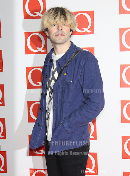 Tim Burgess arriving for The Q Awards 2012 held at the Grosvenor Hotel, London. 22/10/2012 Picture by: Henry Harris / Featureflash