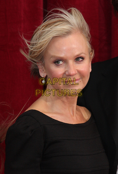 LISA MAXWELL.'An Audience with Michael Buble' Red Carpet arrivals at the London ITV Studios, South Bank, London, England. .May 3rd 2010 .headshot portrait black windy messy hair .CAP/ROS.©Steve Ross/Capital Pictures.