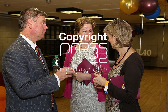 27/9/2012  Thursday UL 40th anniversary celebrations reception and Plaza. Picture Liam Burke/Press 22