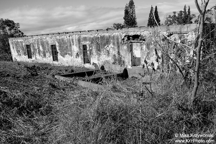 Haleakala Church ruins, Maui