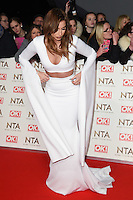 Fern McCann<br /> at the National TV Awards 2017 held at the O2 Arena, Greenwich, London.<br /> <br /> <br /> &copy;Ash Knotek  D3221  25/01/2017
