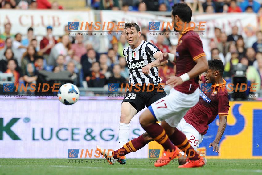 Stephan Lichtsteiner Juve.<br /> Roma 11-05-2014 Stadio Olimpico. Football Calcio 2013/2014 Serie A. AS Roma - Juventus. Foto Antonietta Baldassarre / Insidefoto