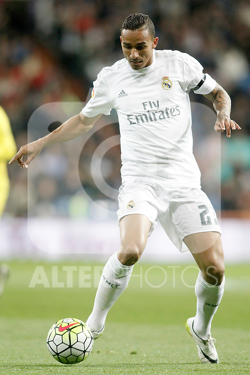 Real Madrid's Danilo da Silva during La Liga match. April 20,2016. (ALTERPHOTOS/Acero)
