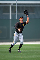 Pittsburgh Pirates Logan Hill (48) during a minor league Spring Training game against the Toronto Blue Jays on March 24, 2016 at Pirate City in Bradenton, Florida.  (Mike Janes/Four Seam Images)
