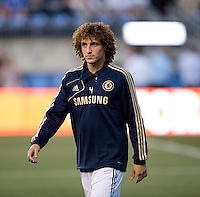 David Luiz.  The MLS All-Stars defeated Chelsea, 3-2.