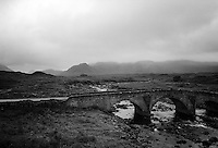 Stone bridge, Sligachan, Isle of Skye, Scotland 1995