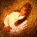 Wynonna Judd photographed in her barn in Franklin, Tennessee for Rolling Stone magazine