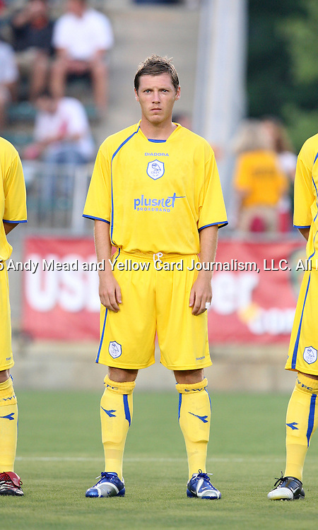 19 July 2006: Sheffield Wednesday's Burton O'Brien (RSA). The United Soccer Leagues First Division All-Stars tied Sheffield Wednesday, of England's Coca-Cola Championship, 0-0 in an international club friendly at SAS Stadium in Cary, North Carolina.