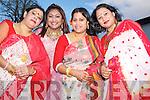 Enjoying the Bangladeshi New Year celebrations in The Malton hotel, Killarney on Wednesday evening were Rita Chowdhury, Umma Tabassum, Shule Roy and Anaxmee Chowdhury, Killarney.............................
