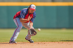 7 March 2013: Washington Nationals infielder Anthony Rendon warms up in the infield prior to a Spring Training game against the Houston Astros at Osceola County Stadium in Kissimmee, Florida. The Astros defeated the Nationals 4-2 in Grapefruit League play. Mandatory Credit: Ed Wolfstein Photo *** RAW (NEF) Image File Available ***