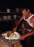 Schweiz, Käserei im Freilichtmuseum Ballenberg im Berner Oberland