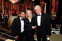 Faye Dunaway (C), Warren Beatty (R) and guest during the live ABC Telecast of the 90th Oscars&reg; at the Dolby&reg; Theatre in Hollywood, CA on Sunday, March 4, 2018.<br /> *Editorial Use Only*<br /> CAP/PLF/AMPAS<br /> Supplied by Capital Pictures
