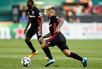Washington,D.C. - Saturday, August 05, 2017: DC United and Toronto FC played to a 1-1 tie in a MLS match at RFK Stadium..