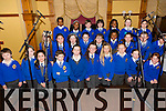 Corfheile na mBunscoileanna Eight Kerry schools are coming together for choir performances to celebrate seachtain na gaeilge at the Meadowlands Hotel on Thursday Pictured Scoil Mhuire na nBraithre, CBS, Tra Li