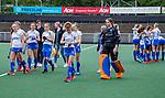 AMSTELVEEN -   teleurstelling Kampong.  finale Kampong MB1-Amsterdam MB1. AMSTERDAM MB1 wint de titel Meisjes B. finales A en B jeugd  Nederlands Kampioenschap.  COPYRIGHT KOEN SUYK