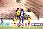 Brunei vs Laos during their AFF Suzuki Cup 2014 qualifier match at New Laos National Stadium on 14 October 2014, in Vientiane, Laos. Photo by Stringer / Lagardere Sports