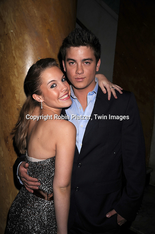 Kristen Alderson and Brandon Buddy.at The One Life to Live Holiday Party on December 19, 2007 at Capitale in New York. .Robin Platzer, Twin Images
