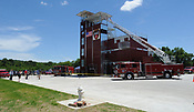 Fayetteville Fire Dept. training facility tour 6/8/2017
