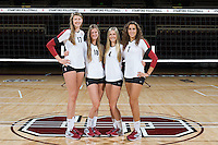 STANFORD, CA - AUGUST 13, 2013 - Freshman of the Stanford Women's Volleyball team.