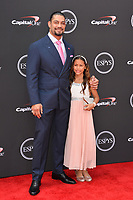 Roman Reigns &amp; Joelle Anoai at the 2018 ESPY Awards at the Microsoft Theatre LA Live, Los Angeles, USA 18 July 2018<br /> Picture: Paul Smith/Featureflash/SilverHub 0208 004 5359 sales@silverhubmedia.com