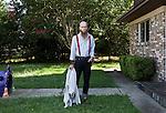Jeff Hood in Denton Texas.<br /> <br /> Ben Sklar for GQ Rev. Jeff Hood in Fort Worth, Texas