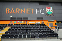 General view of The Hive before Barnet vs Wycombe Wanderers, Friendly Match Football at the Hive Stadium on 13th July 2019